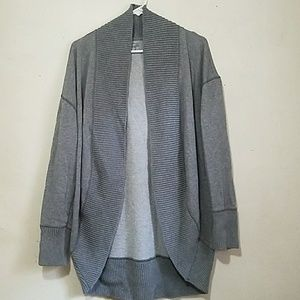 Aerie Grey Coccon Sweater Cardigan
